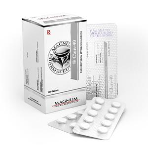 Magnum Clen-40 - buy Clenbuterol hydrochloride (Clen) in the online store | Price