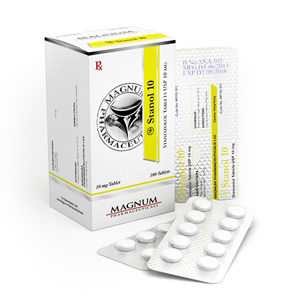 Magnum Stanol 10 - buy Stanozolol oral (Winstrol) in the online store | Price
