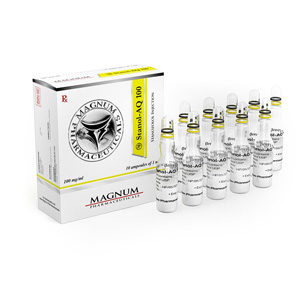Magnum Stanol-AQ 100 - buy Stanozolol injection (Winstrol depot) in the online store | Price