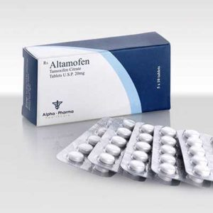 Altamofen-20 - buy Tamoxifen citrate (Nolvadex) in the online store | Price