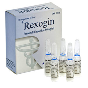 Rexogin - buy Stanozolol injection (Winstrol depot) in the online store | Price