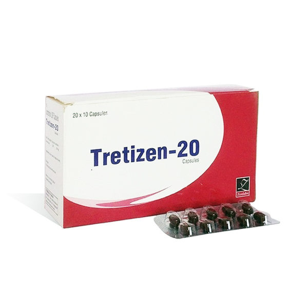 Tretizen 20 - buy Isotretinoin  (Accutane) in the online store   Price